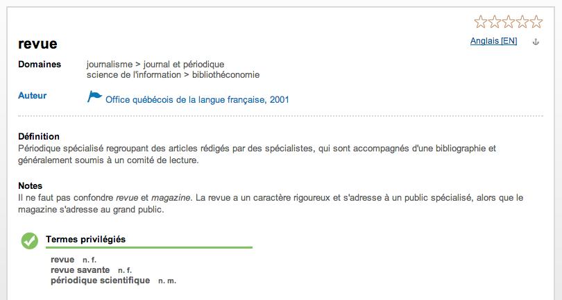 Le grand dictionnaire terminologique gdt geosources - Dictionnaire office de la langue francaise ...