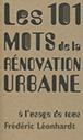 101 mots de la rénovation urbaine