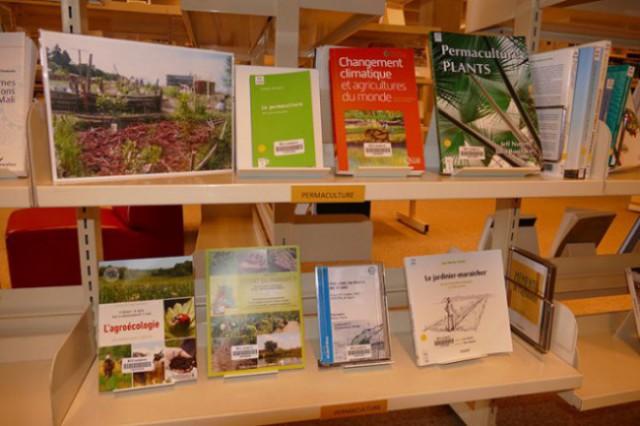 Présentation des nouvelles acquisitions relatives à la permaculture à la BCUL